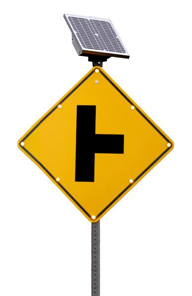 The Tall Boy LED Enhanced Traffic Sign